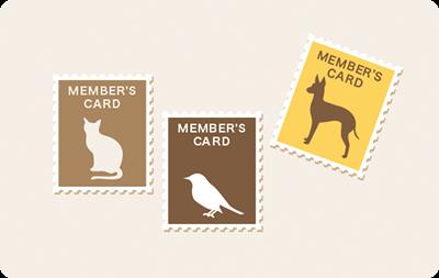 レトロな切手風デザイン